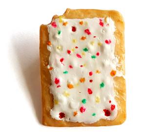 Pop Tart clipart Food Miniature pastry Charm Brooch