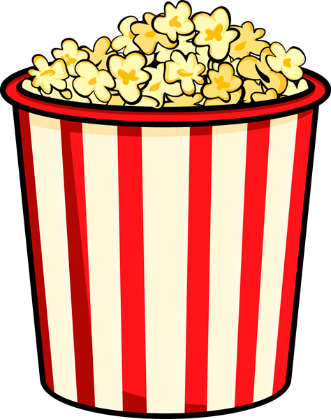 Carnival clipart popcorn container Clipart 50 Cliparting Free free