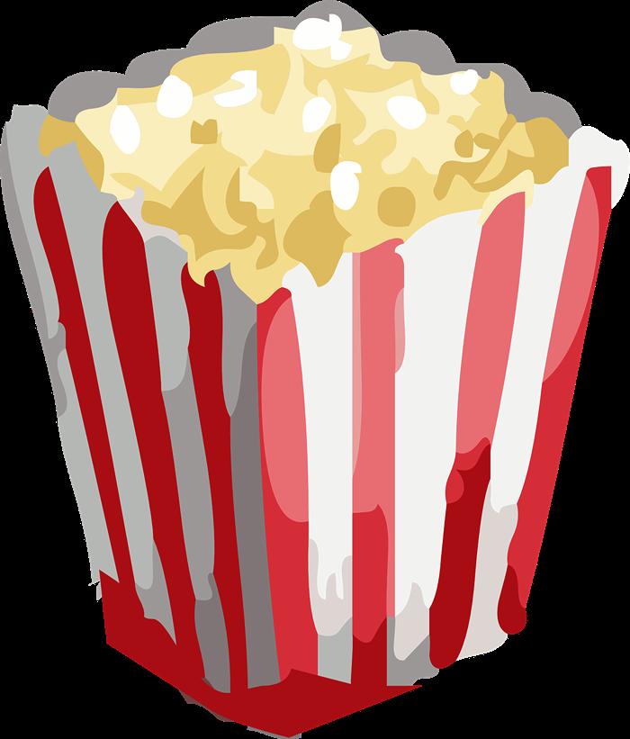 Popcorn clipart Free Popcorn Art · popcorn6