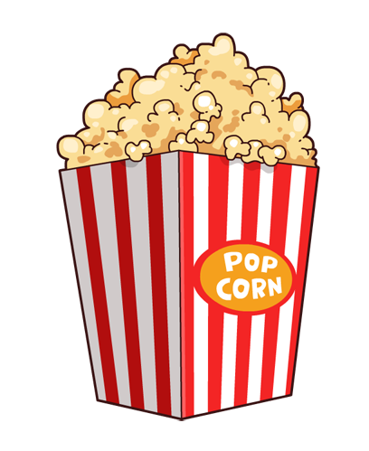 Popcorn clipart fair food Popcorn 50 com Cliparting to