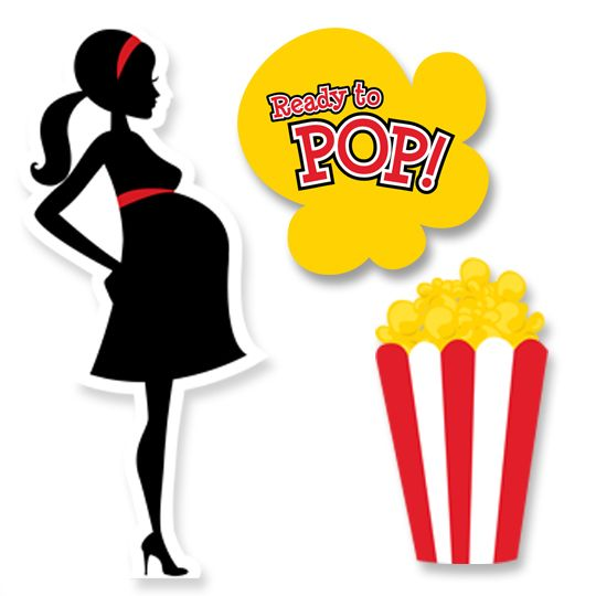 Popcorn clipart baby Shower best images Ready Pinterest