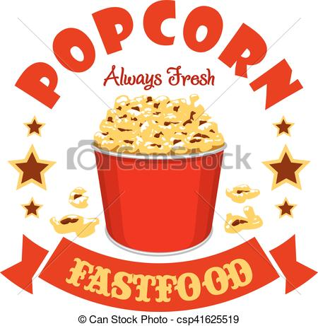 Basket clipart popcorn Sticker sticker Popcorn  of