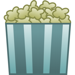 Popcorn clipart blue Public Free Art popcorn5 to