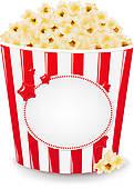 Popcorn clipart border Free Royalty Clip  Box