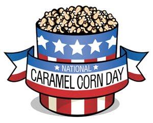 Popcorn clipart caramel popcorn Day Caramel opportunity a so