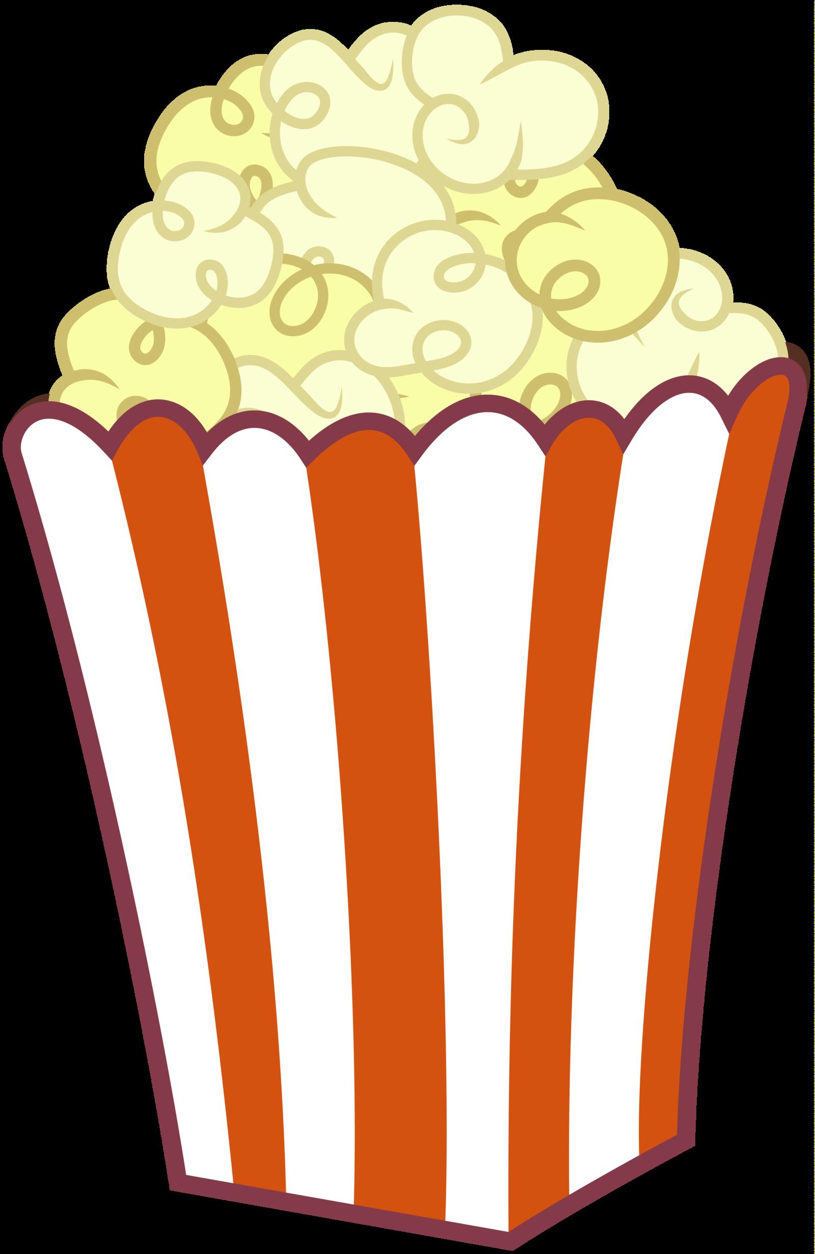 Popcorn clipart chip  Popcorn Art Clip