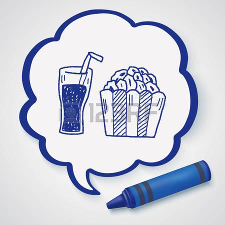 Popcorn clipart coke Stock Photos popcorn Coke clipart