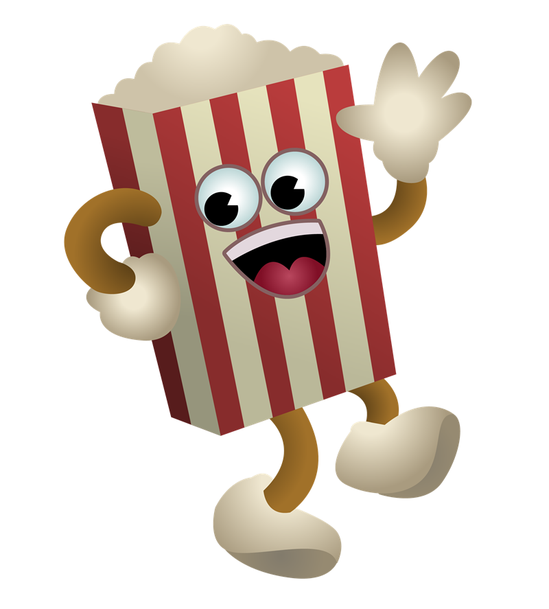 Popcorn clipart cute Attribution you This Free to
