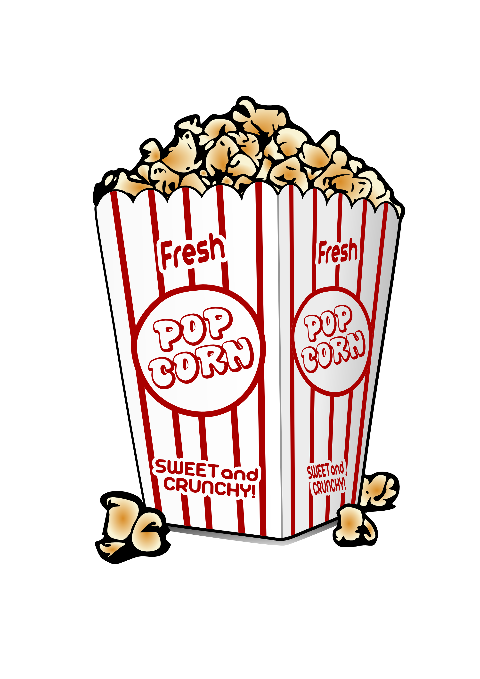 Popcorn clipart friday Free Clip Clipart Images clipart
