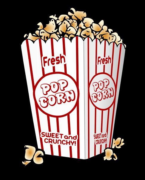 Popcorn clipart friday School lunch bag a Popcorn