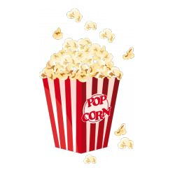 Popcorn clipart juice Food Pop images art Sticker