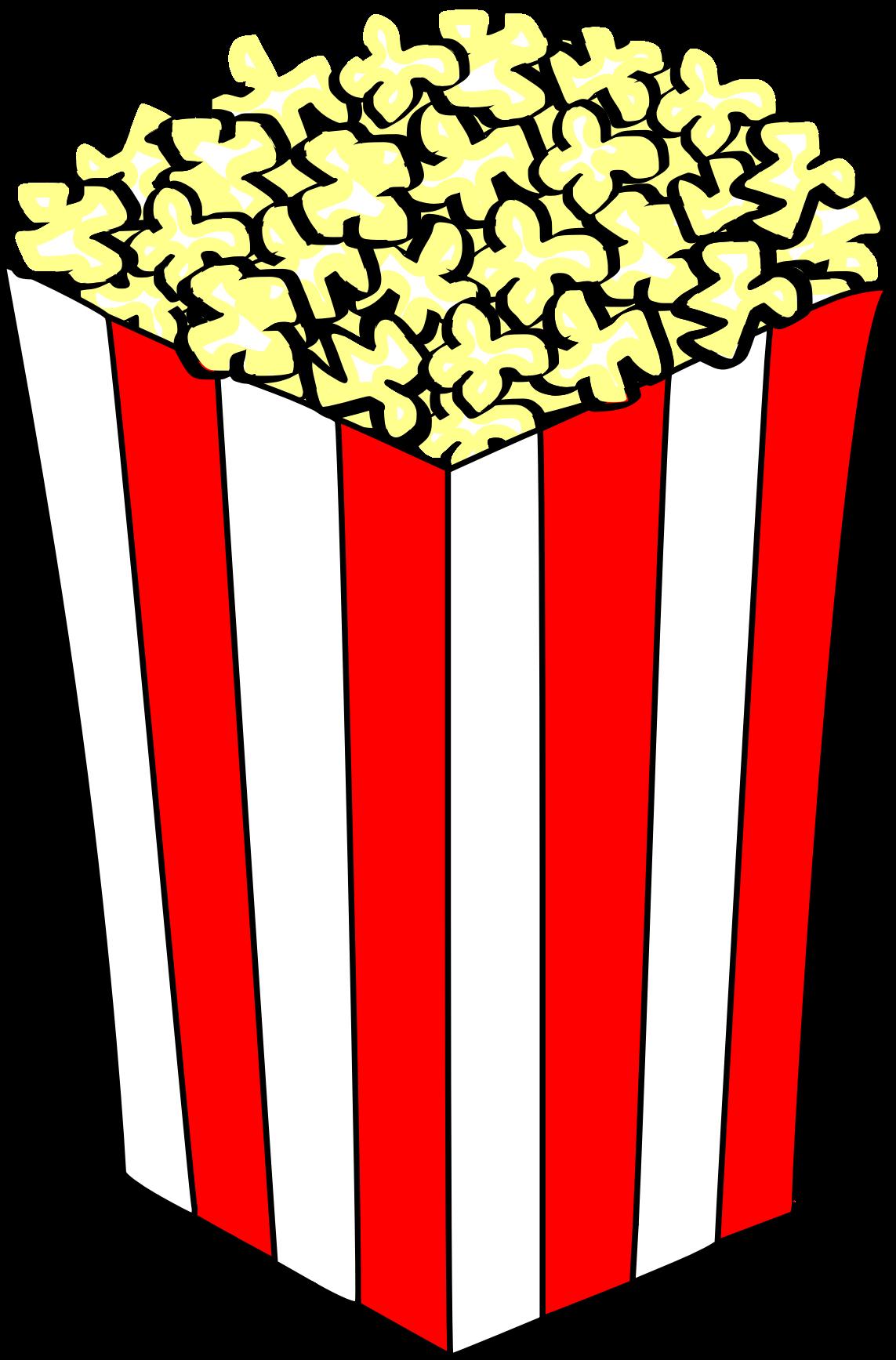 Popcorn clipart kid Popcorn box box clipart popcorn