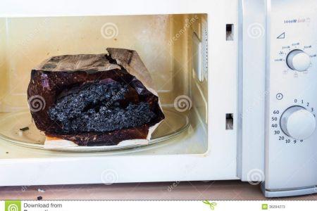 Popcorn clipart microwave popcorn DA Clip Art Burnt Clip