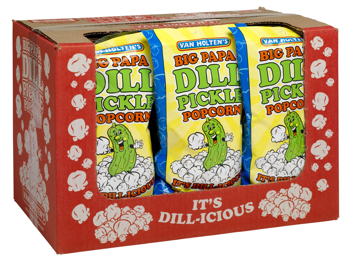 Popcorn clipart pickle Van Holten's DILL Papa is