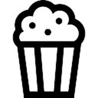 Popcorn clipart sad Free Popcorn Download Ticket Icons