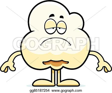 Popcorn clipart sad Clipart sad popcorn Art of