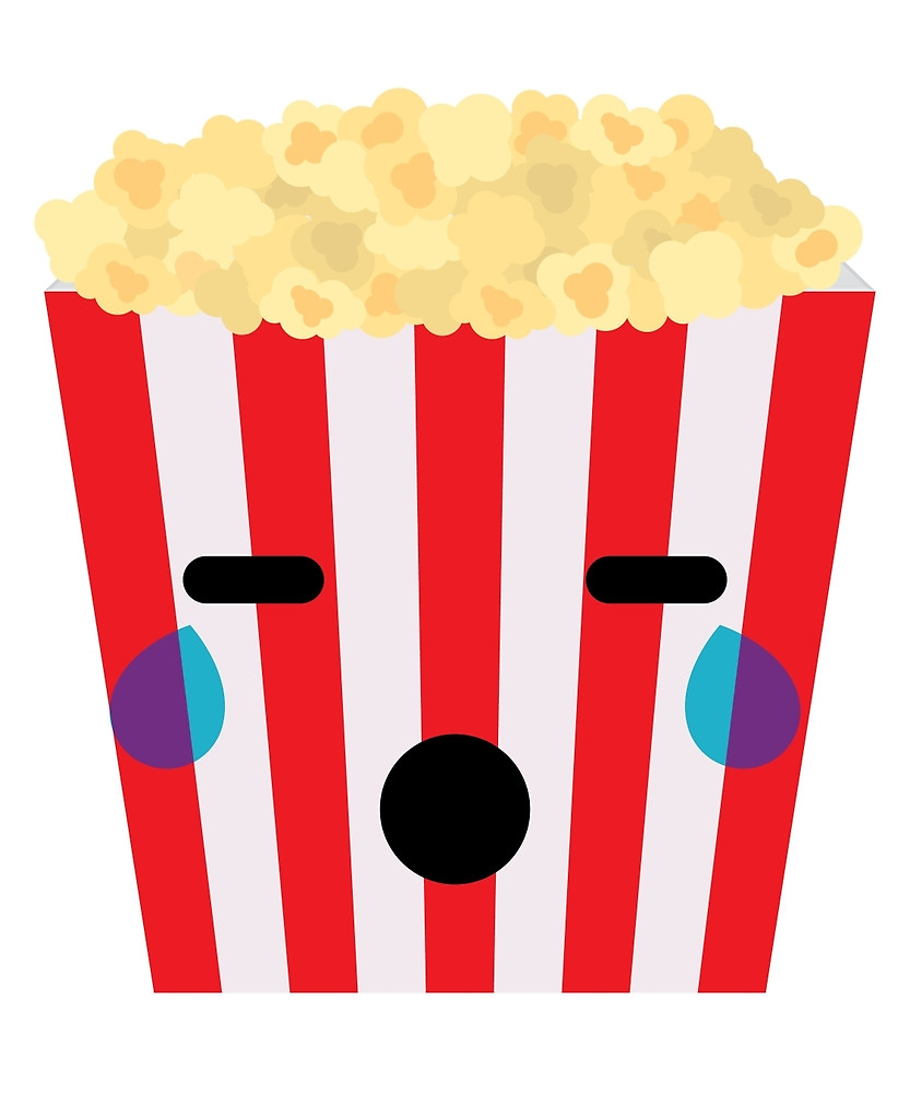 Popcorn clipart sad Popcorn Redbubble Look