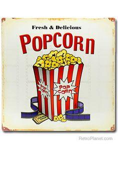 Popcorn clipart vintage  vintage Movie clipart theatre