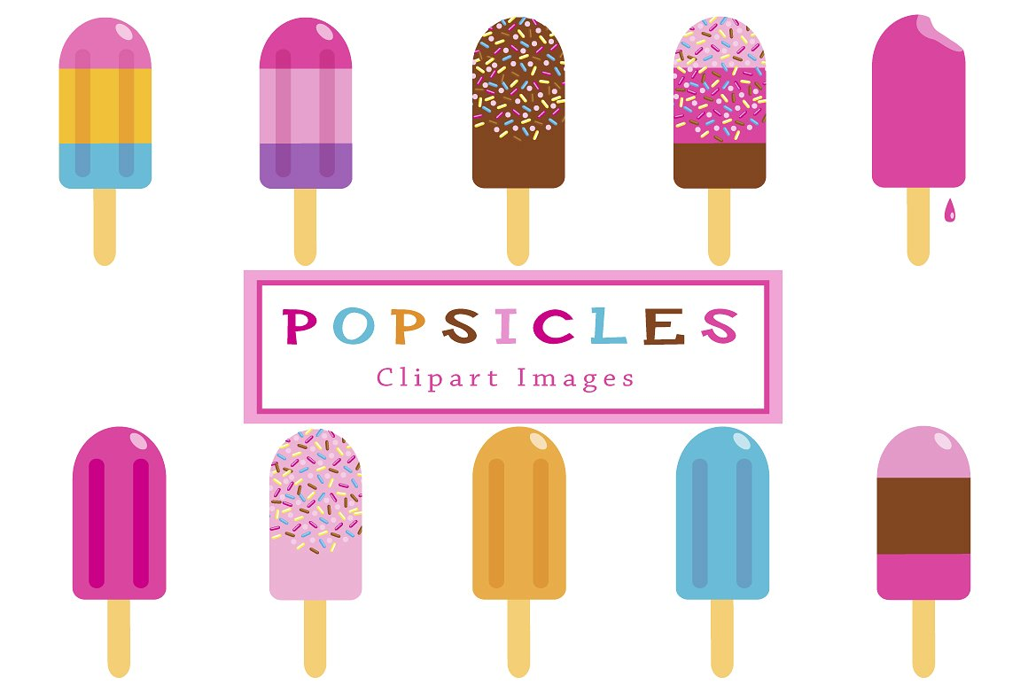 Popsicle clipart Off  ~ Creative Clipart