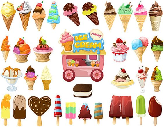 Cart clipart popsicle Clip Ice Ice Art Cart