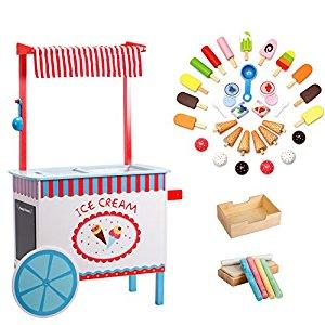 Cart clipart popsicle Pieces Real  Box Svan
