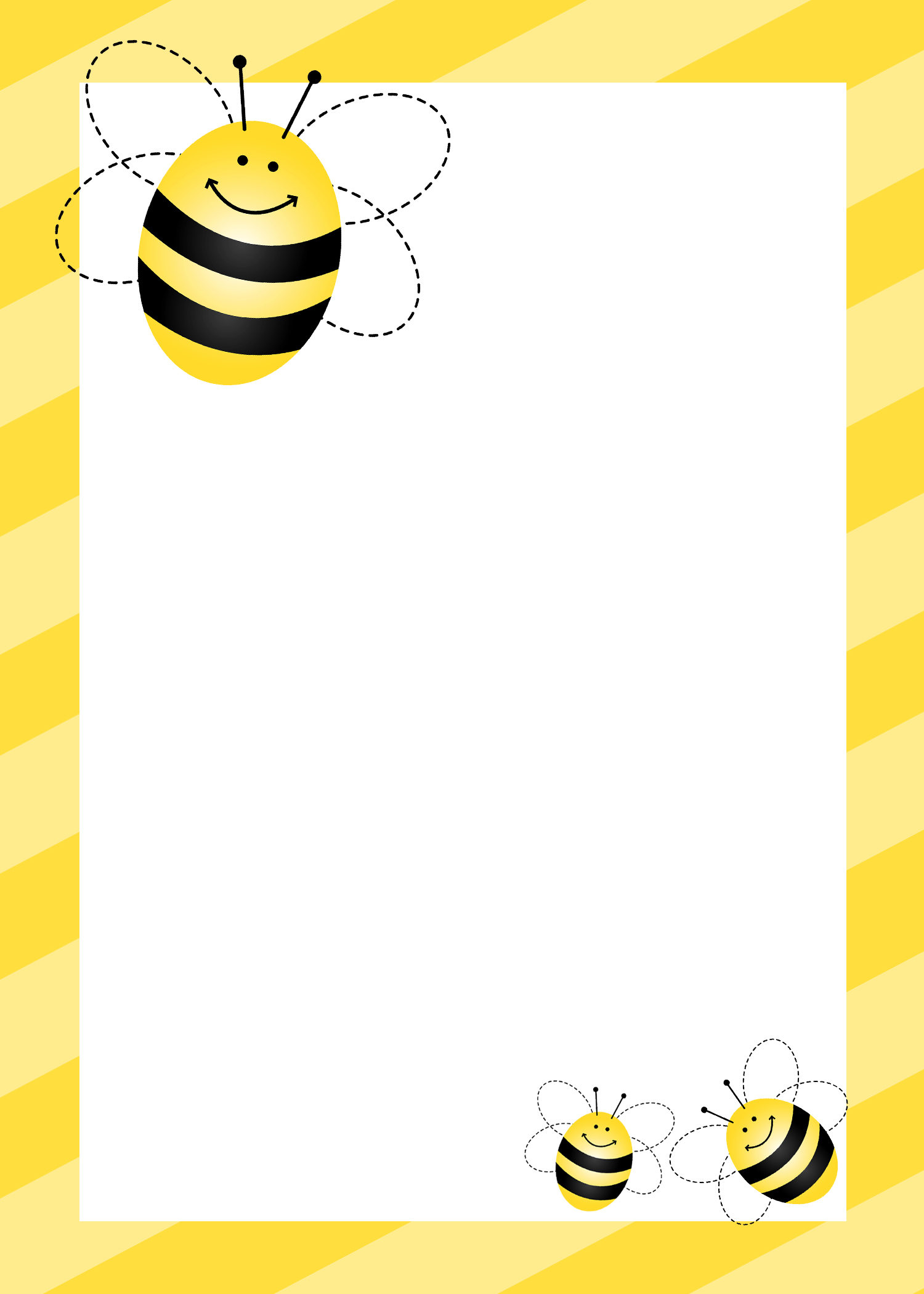 Bees clipart frame Free bee Cliparts Free Clip