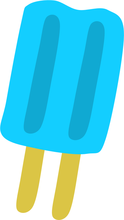 Popsicle clipart green (PNG) Clipart Blue MEDIUM Popsicle
