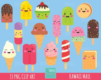 Popsicle clipart kawaii Ice CREAM clipart clipart clipart