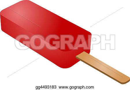 Popsicle clipart red Illustration Illustration  clipart Stock
