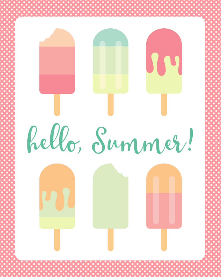 Popsicle clipart summer time Hello Welcome sweet two free!)