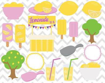 Popsicle clipart summer time Lemonade Clipart Clipart Lemons Popsicles