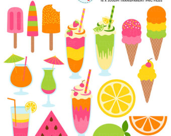 Popsicle clipart summer time Treats Personal Summer Sweet Clipart