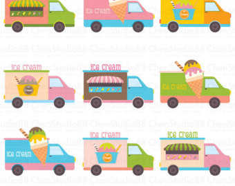 Cart clipart popsicle Clipart files Digital Download Etsy