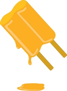 Popsicle clipart yellow Food Clipart Popsicle Image Orange