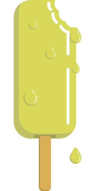 Popsicle clipart yellow Domain Free Melting & Use