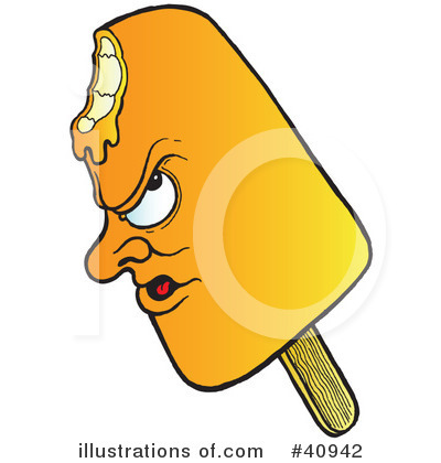 Popsicle clipart yellow Illustration Royalty Free Clipart Popsicle