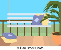 Porch clipart Illustration of of porch Clip