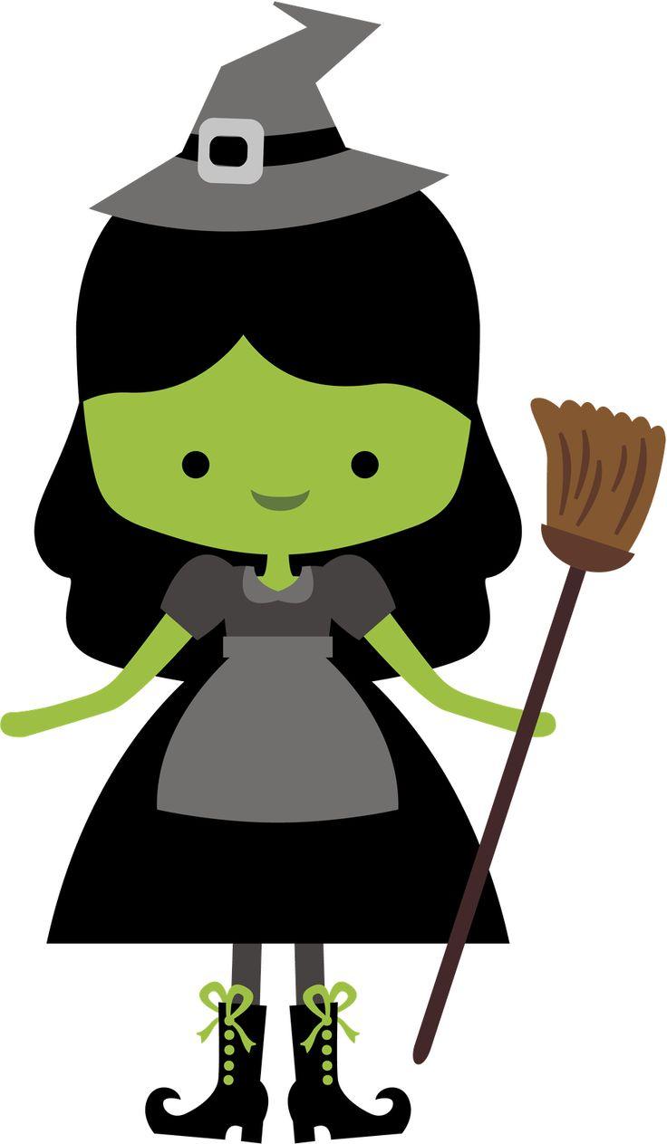 Witch clipart fairytale O 1880 Oz about de