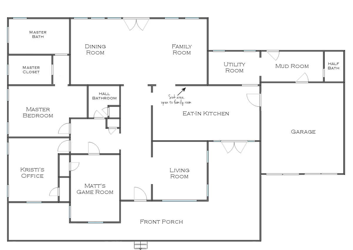 Room clipart house layout #15