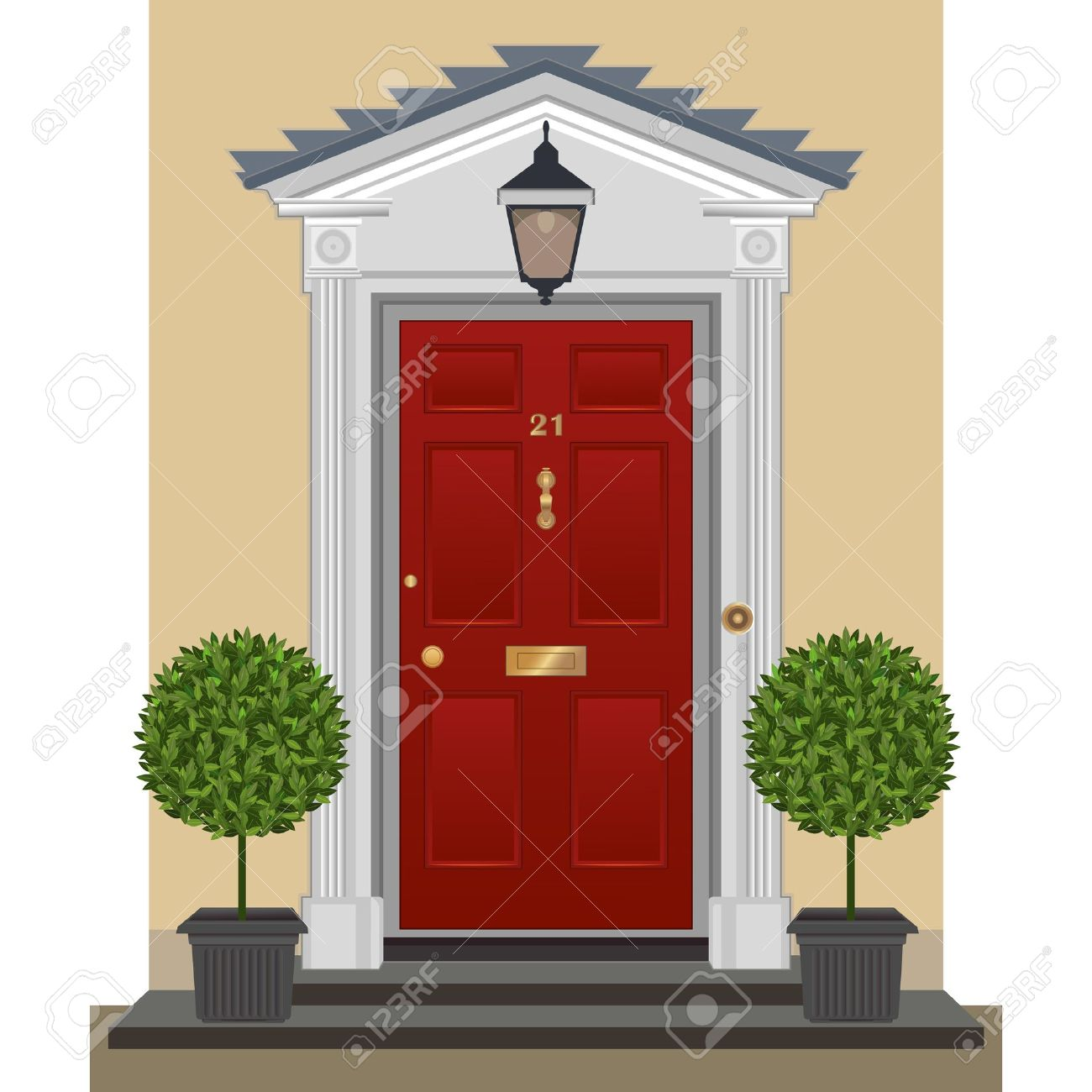 Door clipart cute door #3