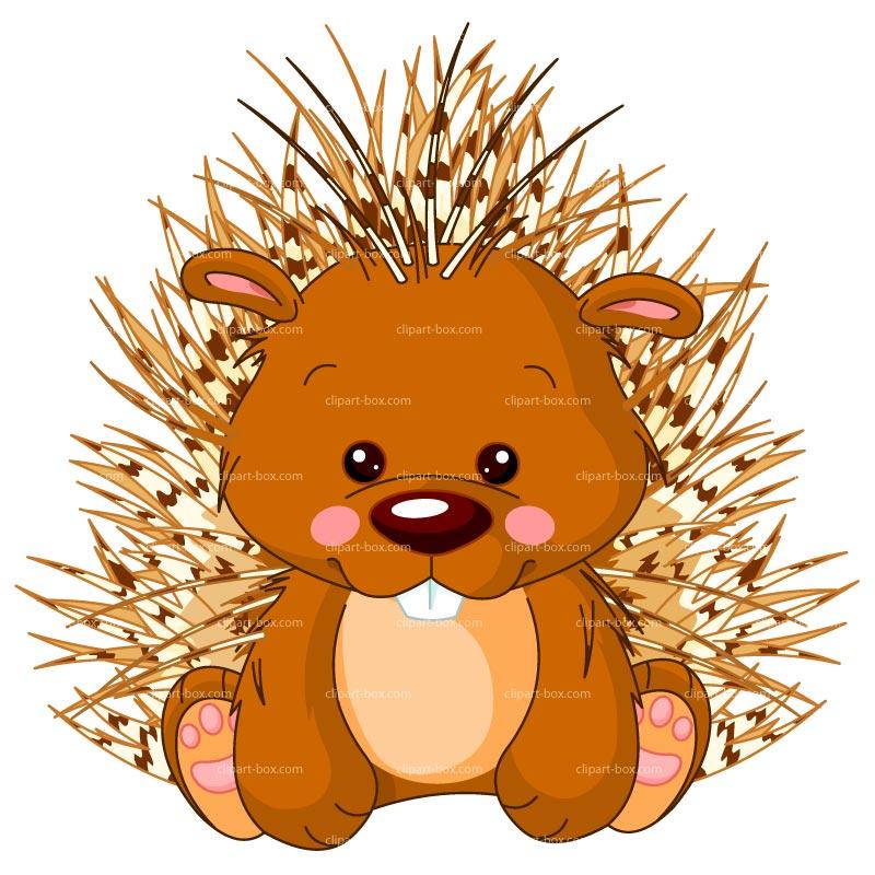 Porcupine clipart Royalty vector vector CLIPART Woodland