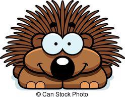 Porcupine clipart Illustrations Clip cartoon of 619