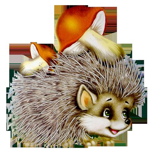 Hedgehog clipart forest animal Clipart» на на — «cartoon_