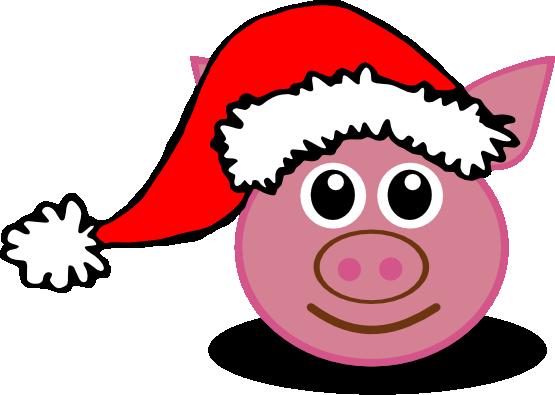 Pork clipart christmas pig Christmas Download pig Clipart to