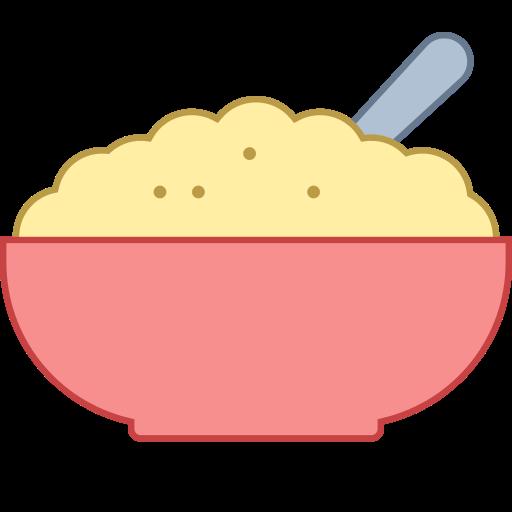 Porridge clipart bowl food Icon Icons Porridge Icons8' Free