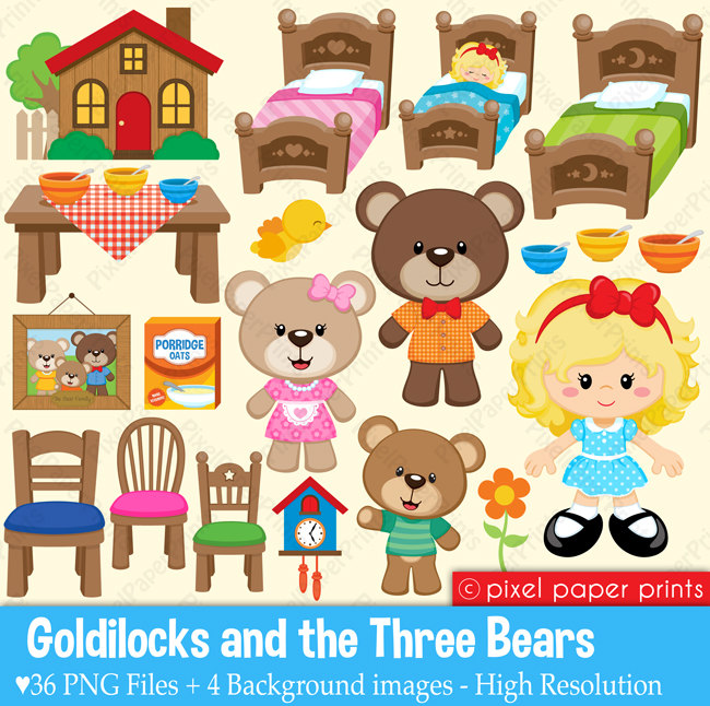 Cottage clipart thing PPP &  The Goldilocks