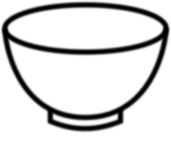 Porridge clipart mixing bowl Vector שבוע Black printable