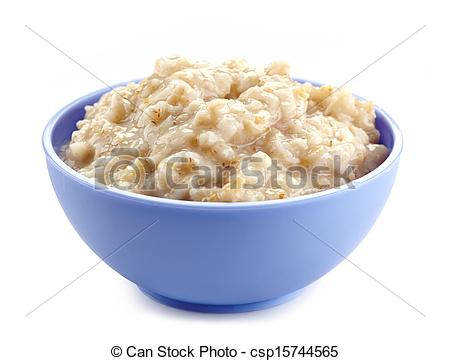 Oat clipart bowl porridge Clip Of Oatmeal Art