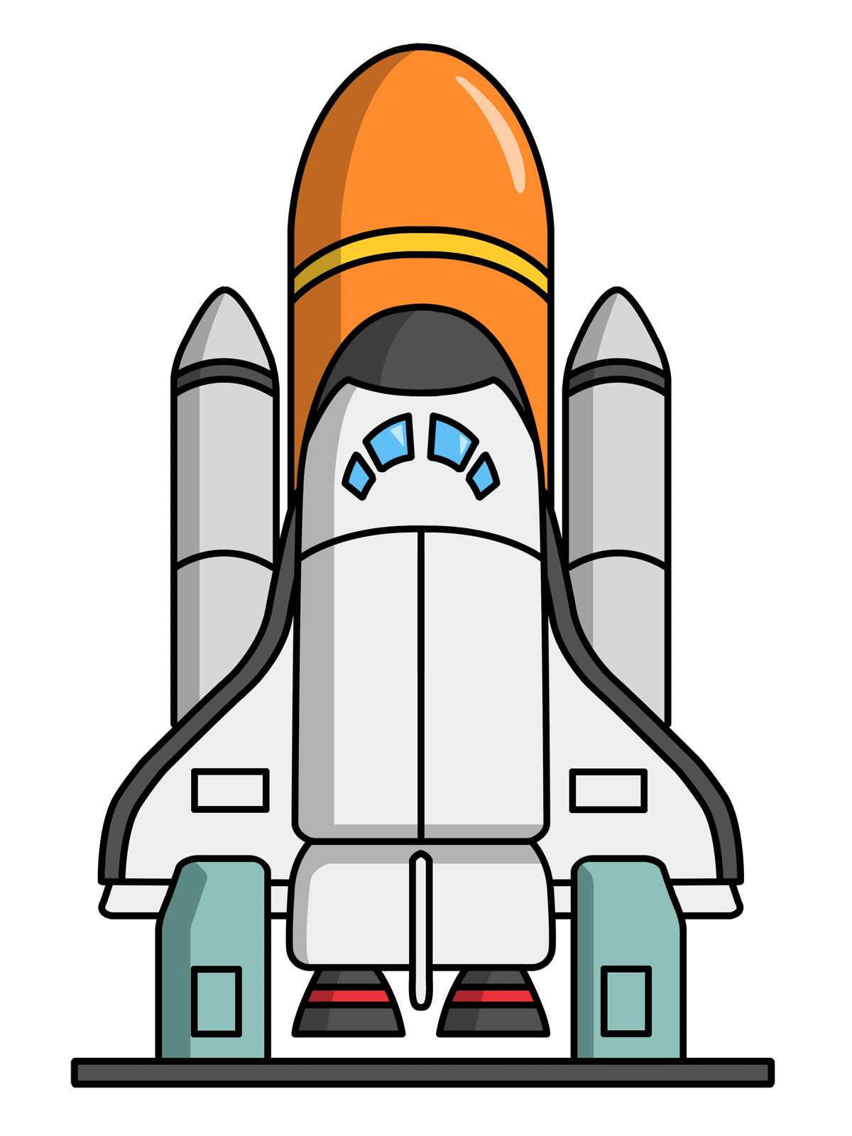 Science clipart rocket ship More Pin Clip Clip