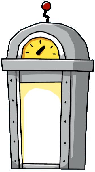 Portal clipart time machine Time Scribblenauts wiki machine machine
